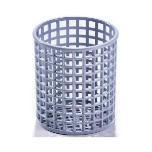 Корзина посудомоечная для столовых приборов, D120мм, пластик серый