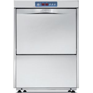 Машина посудомоечная фронтальная, 500х500мм, 60-30-20-12кор/ч, гор.вода, доз.опол.+моющ., D тарелки 400мм, 4 цикла