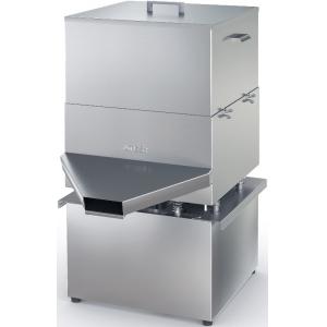 Мукопросеиватель электрический напольный,  150кг/ч, бункер 40л, нерж.сталь, вибрационный