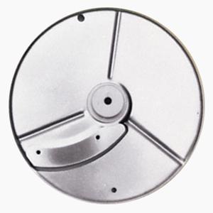 Диск-слайсер для овощерезки-куттера R211 XL, R211 XL Ultra, R301 Ultra, R402 и овощерезки CL20, CL30 Bistro, CL40, кружочки и колечки, срез 6.0мм