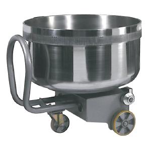 Дежа для тестомеса спирального SILVER VE 80, 130л, нерж.сталь, подкатная