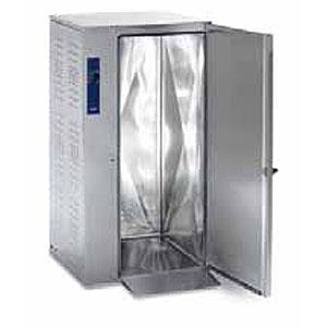 Регенератор тепловой, 1 тележка 40GN1/1, 2 двери распашные глухие, +30/+160С, нерж.сталь, 380V, электрон.упр., без ножек, сквозной