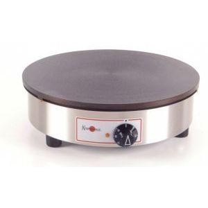 Блинница электрическая настольная, 1 поверхность D350мм чугун, корпус нерж.сталь круглый, Standard