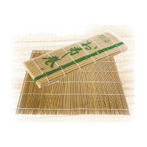 Коврик (циновка) L 27см w 27см, бамбук светлый