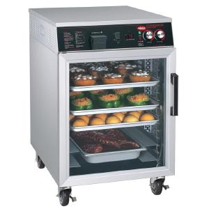 Шкаф тепловой,  6GN2/1 или 6х(660х457мм), 1 дверь распашная стекло, +27/+93С, нерж.сталь, 220V, колеса, электромех.упр., увлажение
