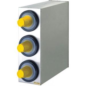 Диспенсер для стаканов 236-1360мл, D73/121мм, настольный, 3 секции