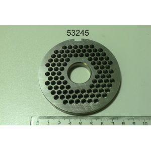 Решетка для мясорубки LM-82 Unger, нерж.сталь, отверстия  5.0мм