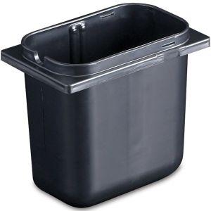 Емкость, глубина 176мм, вместимость 2.37л, чёрный пластик, д/P9722, P9724