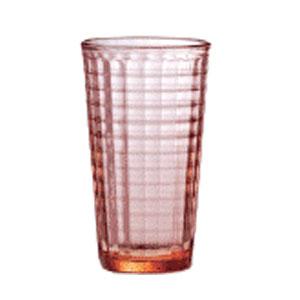 Бокал для коктейлей 296мл MURALLA, красный стекло
