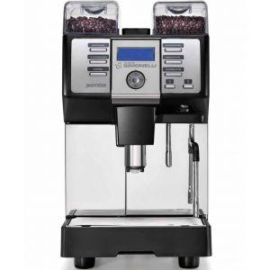 Кофемашина-суперавтомат, 1 группа, 2 кофемолки, черная, рус.яз., заливная