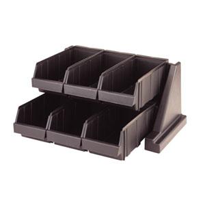 Стойка с 6 ящиками L 51,1см w 48,8см h 24,1см, серый пластик
