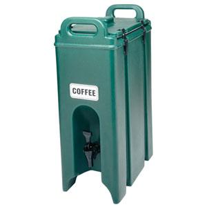 Термоконтейнер для напитков 18л L 42см w 23см h 62см, зеленый
