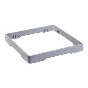 Основание для держателей посудомоечных С112-113-114, 500х500мм, пластик серый