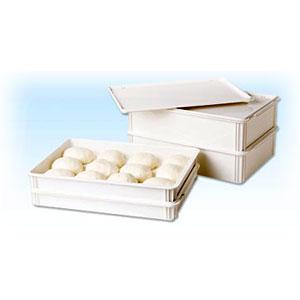 Лоток под тесто для пиццы L 66см w 46см h 7,6см, белый поликарбонат