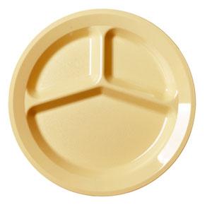 Тарелка (3 секции) D 24,1см, поликарбонат