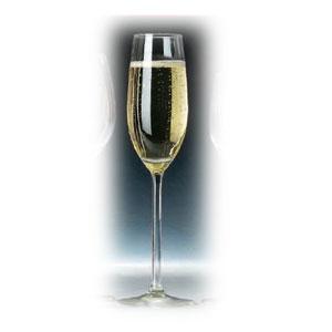 Бокал для шампанского (флюте) ALLURE 210мл D 7см h 24,8см