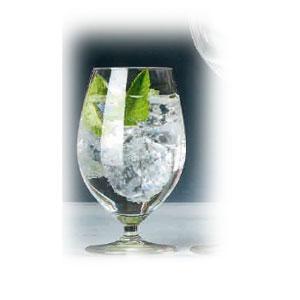 Бокал для воды ALLURE 410мл D 8,3см h 14см