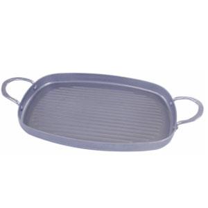 Сковорода L 38см w 26см ГРИЛЬ CARBONE PLUS прямоугольная