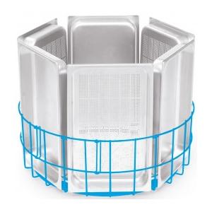 Корзина посудомоечная для гастроемкостей для машины котломоечной Granules 900, D735мм, нерж.сталь