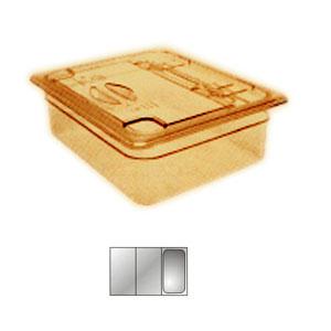 Крышка для гастроемкости GN1/3 с ручк. и вырезом H-PAN, поликарбонат