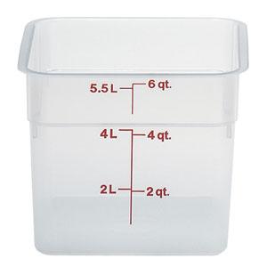 Контейнер 5,7л L 21,5см h 18,5см с градуир., пластик