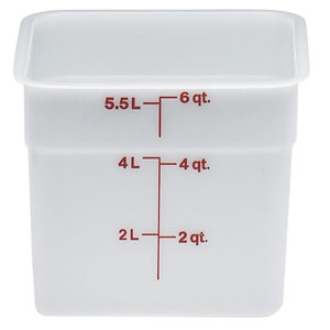 Контейнер 5,7л L 21,5см h 18,5см с градуир., полиэтилен