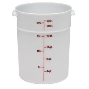 Контейнер 20,8л D 37,8см h 38,1см с градуир., полиэтилен