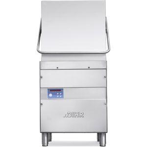 Машина посудомоечная купольная, 500х500мм, 70-40-30-20-12кор/ч, теп.вода, доз.опол., D тарелки 410мм, 5 циклов, авт.подъем, сливная помпа