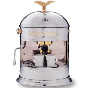 Кофемашина-полуавтомат, 1 группа, бойлер 0.8л, заливная, хром, 220В
