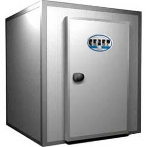 Камера морозильная Шип-Паз,  16.50м3, h2.20м, 1 дверь расп.правая, ППУ80мм