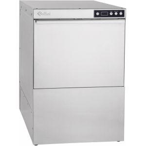 Машина посудомоечная фронтальная, 500х500мм, 500тар/ч, доз.опол.+моющ., сливной насос, 380V