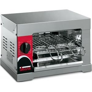 Тостер электрический для разогрева, настольный, 1 уровень, 4 тоста, корпус нерж.сталь