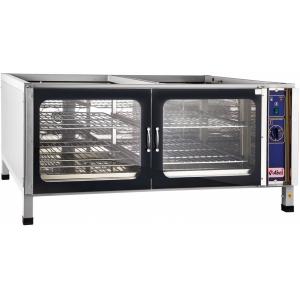 Шкаф расстоечный,  4GN1/1, 2 двери распашные стекло, +30/+85С, нерж.сталь (частично), 220V, ножки, электромех.упр., увлажнение, без крышки