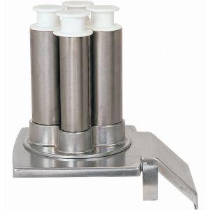 Воронка загрузочная для овощерезки CL55, 4 трубки (вертикальные), нерж.сталь
