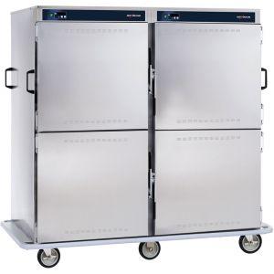 Тележка банкетная тепловая для тарелок D229-254мм, 192шт., закрытая, 4 двери, 2 камеры