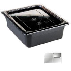 Гастроемкость GN1/4х100, черный поликарбонат