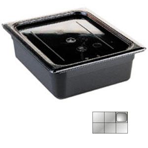 Гастроемкость GN1/6х65, черный поликарбонат