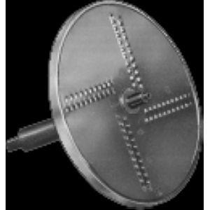 Диск-тёрка для насадки-овощерезки APPL. T.CUB/71, D отверстия 4мм