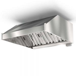 ЗВПК-1110 - Зонт пристенный, кепкой, б/отверстия, б/подсветки