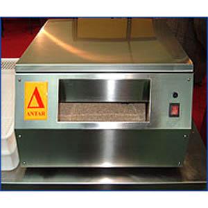 Машина сушильно-полировочная для столовых приборов, 2000шт/ч, фронт.загрузка