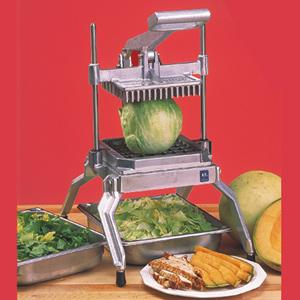 Овощерезка механическая для салата-латука, настольная, отверстие  9.5х9.5мм, вертикальная резка