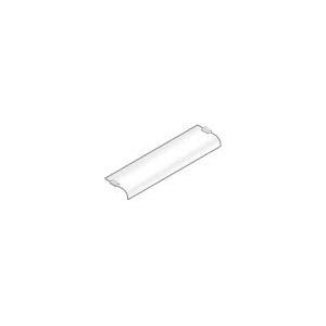 Полка для настольной конструкции, L0.75м, стекло, гнутая с 1 стороны, без опор, серия GISELF Elite