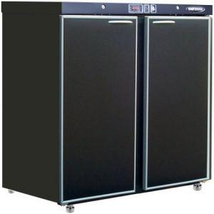Модуль барный холодильный,  900х563х900мм, без борта, 2 двери глухие, ножки, +2/+8С, темно-серый, дин.охл., агрегат сзади, R290