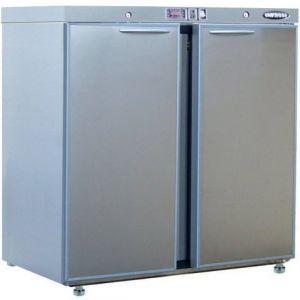 Модуль барный холодильный,  900х563х900мм, без борта, 2 двери глухие, ножки, +2/+8С, нерж.сталь, дин.охл., агрегат сзади, R290