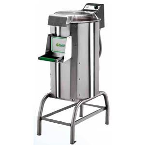 Картофелечистка электрическая, напольная, загрузка 25кг, 450кг/ч, корпус нерж.сталь, 380V, боковой абразив