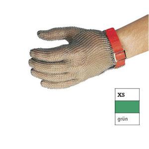 Перчатка кольчужная XS (размер 6 - 6,5 - XS зеленый)