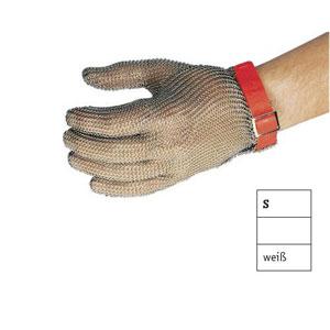 Перчатка кольчужная S (размер 7 - 7,5 - S белый)