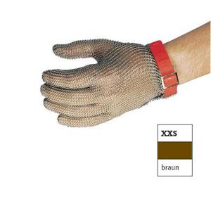 Перчатка кольчужная XXS (размер 5 - 5,5 - XXS коричневый)