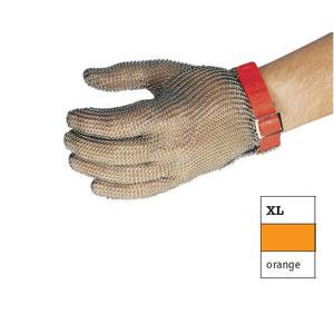 Перчатка кольчужная ХL (размер 10 - ХL оранжевый)