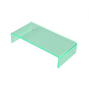 Стенд для выкладки L 24см w 12см h 5см, пластик прозрачный